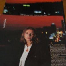 Coleccionismo de Revista Blanco y Negro: RECORTE REVISTA BLANCO Y NEGRO AÑO 1993 ENTREVISTA A VICTORIA ABRIL . Lote 160943626