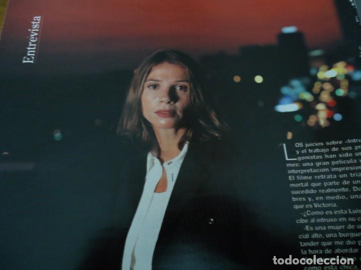 Coleccionismo de Revista Blanco y Negro: Recorte revista Blanco y negro año 1993 entrevista a Victoria Abril - Foto 2 - 160943626