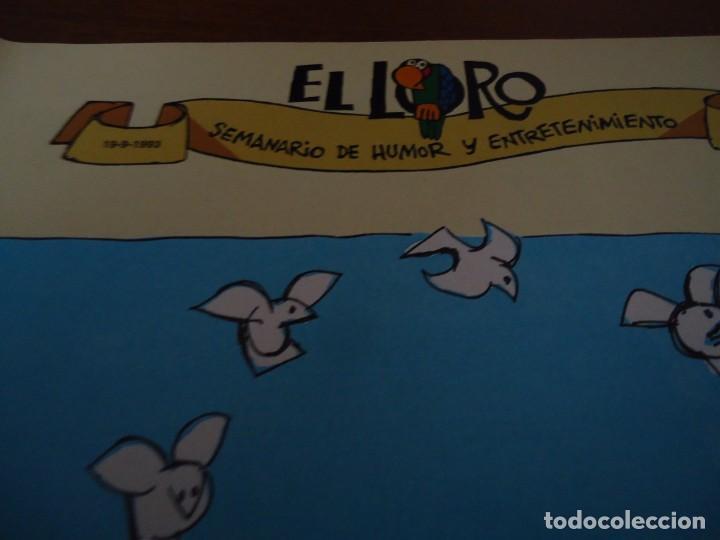 Coleccionismo de Revista Blanco y Negro: Recorte revista Blanco y negro año 1993 humor de Mingote - Foto 3 - 160943922