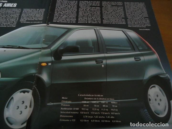 RECORTE REVISTA BLANCO Y NEGRO AÑO 1993 PUBLICIDAD DEL FIAT PUNTO (Coleccionismo - Revistas y Periódicos Modernos (a partir de 1.940) - Blanco y Negro)