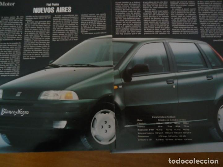 Coleccionismo de Revista Blanco y Negro: Recorte revista Blanco y negro año 1993 publicidad del fiat punto - Foto 2 - 160944086