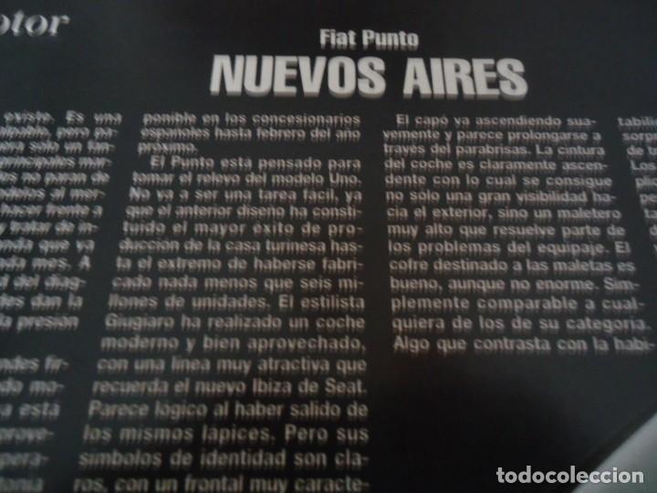 Coleccionismo de Revista Blanco y Negro: Recorte revista Blanco y negro año 1993 publicidad del fiat punto - Foto 3 - 160944086