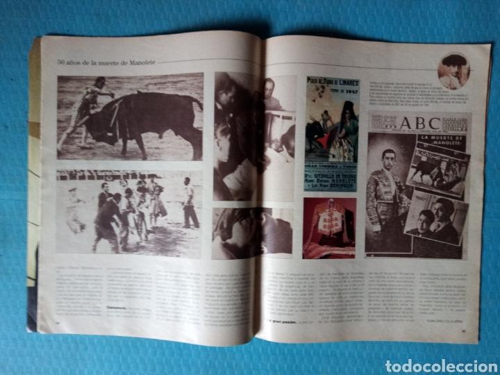 Coleccionismo de Revista Blanco y Negro: MANOLETE 50 AÑOS DE LA MUERTE BLANCO Y NEGRO 1997 - Foto 2 - 161075518