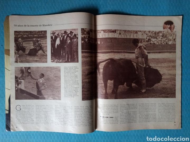 Coleccionismo de Revista Blanco y Negro: MANOLETE 50 AÑOS DE LA MUERTE BLANCO Y NEGRO 1997 - Foto 3 - 161075518