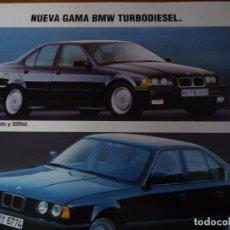 Coleccionismo de Revista Blanco y Negro: RECORTE REVISTA BLANCO Y NEGRO AÑO 1993 PUBLICIDAD BMW . Lote 161288906