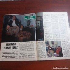 Collectionnisme de Magazine Blanco y Negro: FERNANDO FERNAN GOMEZ - ENTREVISTA EN 4 PAGINAS - AÑO 1975 - RECORTE -VER FOTOS DETALLES. Lote 161621954