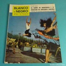 Coleccionismo de Revista Blanco y Negro: BLANCO Y NEGRO Nº 2512. JUNIO 1960. TOKIO. EICHMANN. BIENVENIDA. GREGORIO SÁNCHEZ. TINTÍN. Lote 162519878