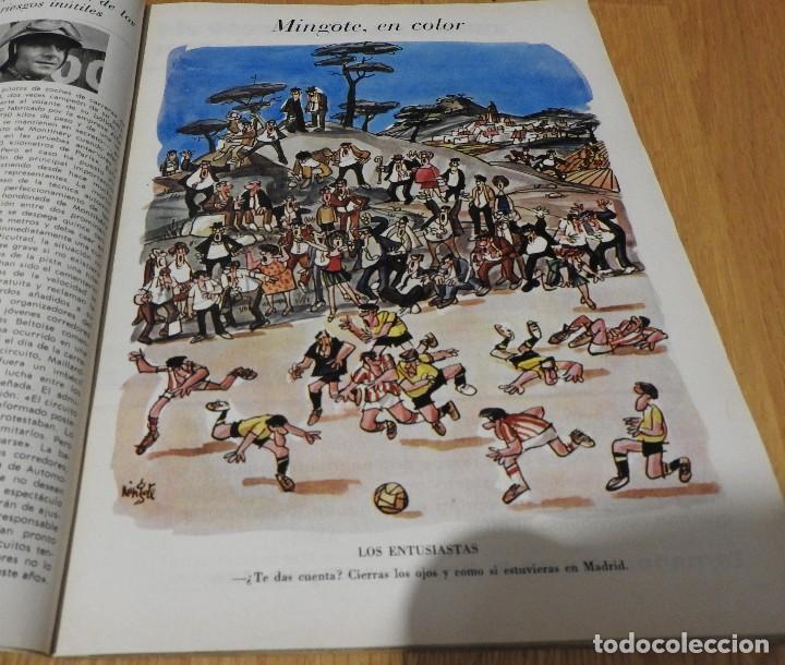MINGOTE. RECORTE REVISTA BLANCO Y NEGRO 1967 (Coleccionismo - Revistas y Periódicos Modernos (a partir de 1.940) - Blanco y Negro)