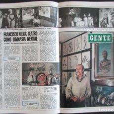 Collectionnisme de Magazine Blanco y Negro: RECORTE BLANCO Y NEGRO Nº 3420 1977 FRANCISCO NIEVA. LIA UYÁ. 2 ARTICULOS. Lote 163668558