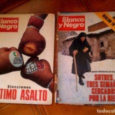 Coleccionismo de Revista Blanco y Negro: REVISTAS BLANCO Y NEGRO NUMEROS ,3397,Y 3431 ,EL 3431 TIENE EL CANTO MUY. Lote 164061298