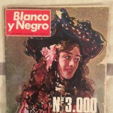 Coleccionismo de Revista Blanco y Negro: REVISTA BLANCO Y NEGRO NÚM 3.000 NOVIEMBRE 1969. Lote 165427254