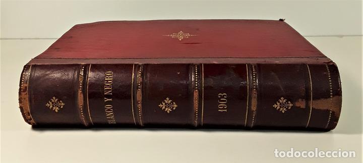 REVISTA SEMANAL. BLANCO Y NEGRO. AÑO TRECE. MADRID. 1903. (Coleccionismo - Revistas y Periódicos Modernos (a partir de 1.940) - Blanco y Negro)