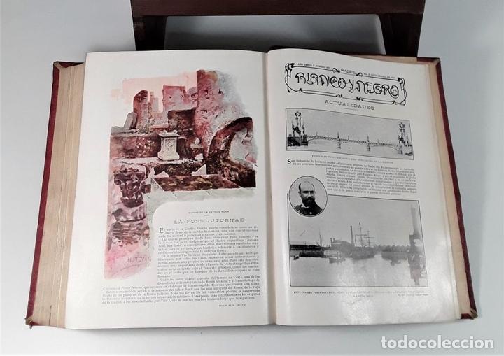 Coleccionismo de Revista Blanco y Negro: REVISTA SEMANAL. BLANCO Y NEGRO. AÑO TRECE. MADRID. 1903. - Foto 6 - 166505750