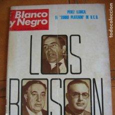 Coleccionismo de Revista Blanco y Negro: REVISTA BLANCO Y NEGRO N,3444 DE MAYO DE 1978. Lote 167951516