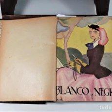Coleccionismo de Revista Blanco y Negro: REVISTA ILUSTRADA. BLANCO Y NEGRO. 3 EJEMPLARES EN I TOMO. TORCUATO. MADRID. 1935.. Lote 168078672