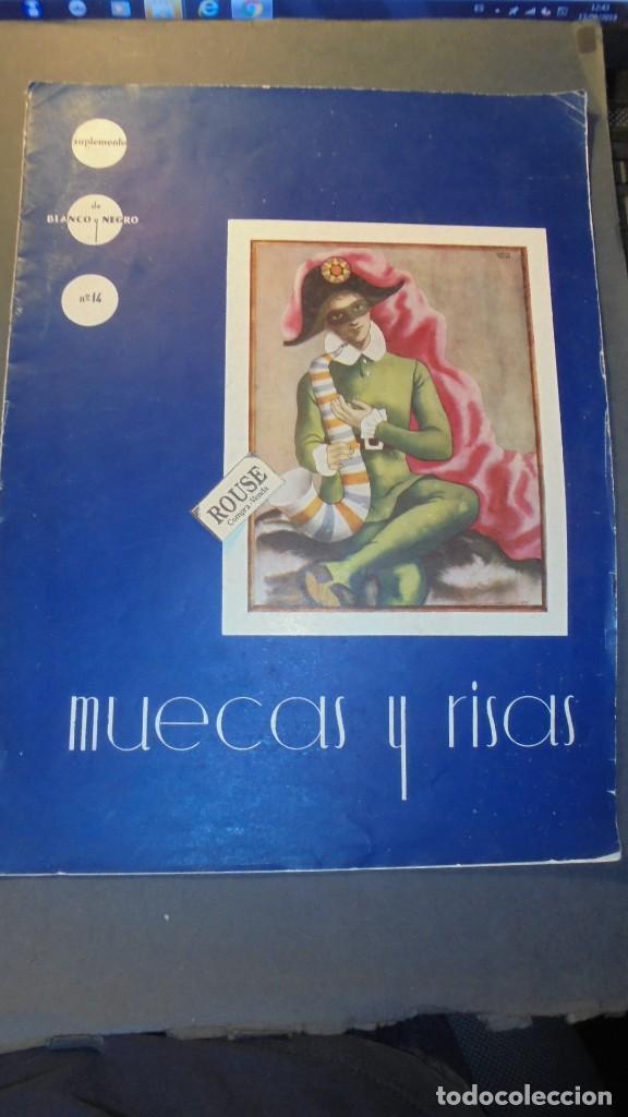 SUPLEMENTO - MUJERES Y RISAS DE BLANCO Y NEGRO Nº 14 - 1936 - MUY ILUSTRADO 20 PAG. 36X27 CM. (Coleccionismo - Revistas y Periódicos Modernos (a partir de 1.940) - Blanco y Negro)