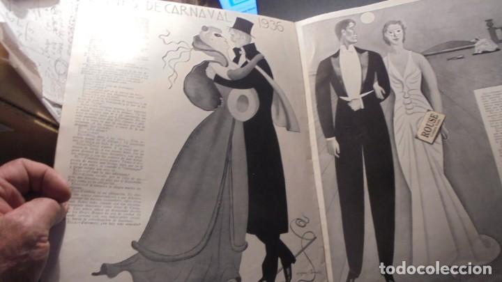 Coleccionismo de Revista Blanco y Negro: suplemento - MUJERES Y RISAS DE BLANCO Y NEGRO Nº 14 - 1936 - MUY ILUSTRADO 20 PAG. 36X27 CM. - Foto 7 - 168162824