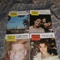 Coleccionismo de Revista Blanco y Negro: REVISTAS BLANCO Y NEGRO. 4 UNIDADES. Lote 168229756