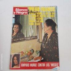 Coleccionismo de Revista Blanco y Negro: REVISTA BLANCO Y NEGRO Nº 3397. AÑO 1975. PILAR FRANCO . TDKR66. Lote 168389556