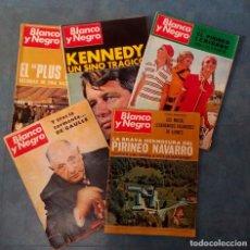Coleccionismo de Revista Blanco y Negro: ANTIGUAS REVISTAS BLANCO Y NEGRO. LOTE 5 NUMEROS DEL AÑO 1968. Lote 168726792