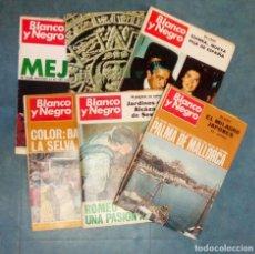 Coleccionismo de Revista Blanco y Negro: ANTIGUAS REVISTAS BLANCO Y NEGRO. LOTE 5 NUMEROS DEL AÑO 1968. Lote 168727912