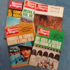 Coleccionismo de Revista Blanco y Negro: ANTIGUAS REVISTAS BLANCO Y NEGRO. LOTE 5 NUMEROS DEL AÑO 1969. Lote 168728120