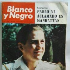 Coleccionismo de Revista Blanco y Negro: REVISTA BLANCO Y NEGRO OCTUBRE 1965 PABLO VI. Lote 169242558