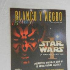 Collectionnisme de Magazine Blanco y Negro: BLANCO Y NEGRO !GUAY! Nº 61 -09-04-2000 - STAR WARS LA AMENAZA FANTASMA . Lote 169587304