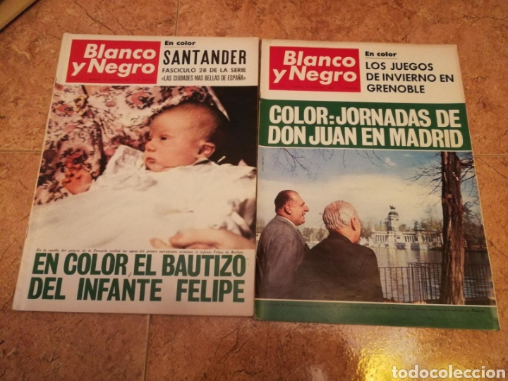 REVISTA BLANCO Y NEGRO NÚMEROS 2911,2912 (Coleccionismo - Revistas y Periódicos Modernos (a partir de 1.940) - Blanco y Negro)