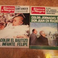 Coleccionismo de Revista Blanco y Negro: REVISTA BLANCO Y NEGRO NÚMEROS 2911,2912. Lote 169919269