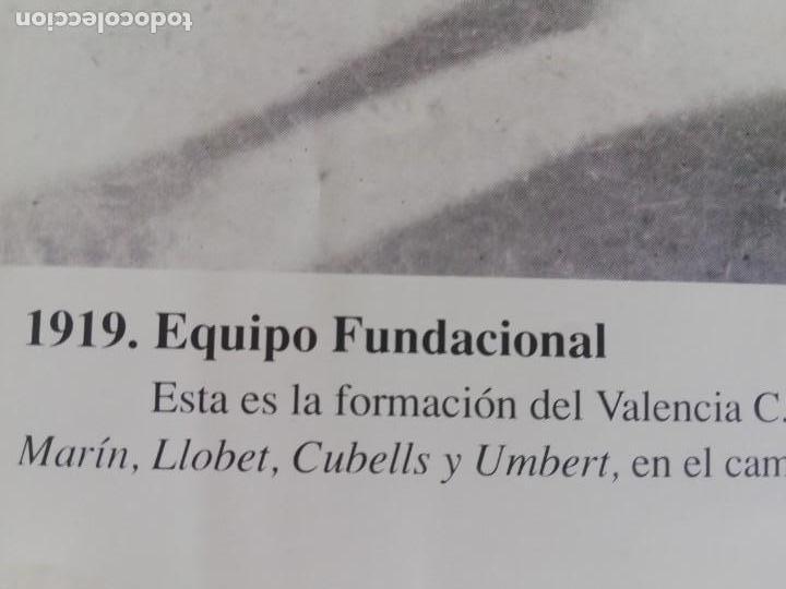 Coleccionismo de Revista Blanco y Negro: Fotógrafia del equipo fundacional del VCF de 1919 - Foto 3 - 171149200