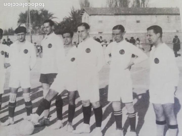 Coleccionismo de Revista Blanco y Negro: Fotógrafia del equipo fundacional del VCF de 1919 - Foto 4 - 171149200