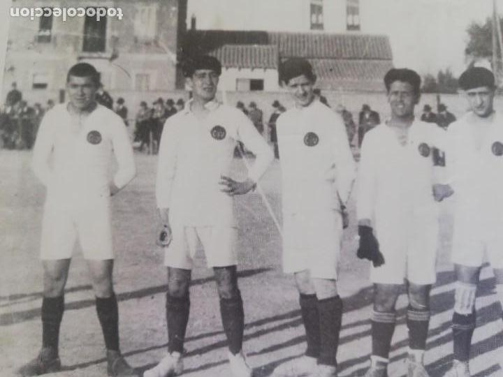 Coleccionismo de Revista Blanco y Negro: Fotógrafia del equipo fundacional del VCF de 1919 - Foto 5 - 171149200