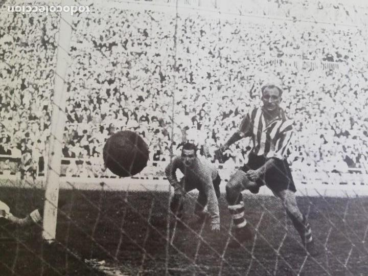 Coleccionismo de Revista Blanco y Negro: Gol de Epi.. VCF campeón de copa 1949 - Foto 2 - 171149653