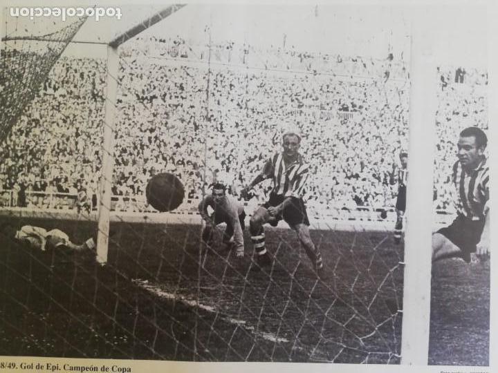 Coleccionismo de Revista Blanco y Negro: Gol de Epi.. VCF campeón de copa 1949 - Foto 3 - 171149653