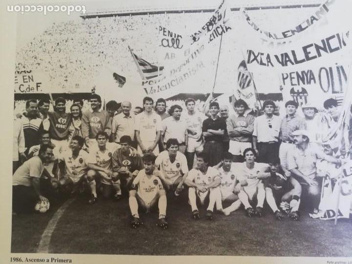 Coleccionismo de Revista Blanco y Negro: Fotografía del ascenso a primera división del VCF 1986 - Foto 8 - 171149873