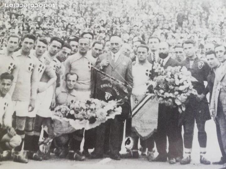 Coleccionismo de Revista Blanco y Negro: Fotografía del primer partido internacional en Mestalla 1925 - Foto 3 - 171150237