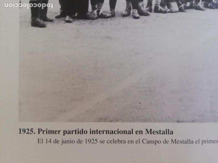 Coleccionismo de Revista Blanco y Negro: Fotografía del primer partido internacional en Mestalla 1925 - Foto 4 - 171150237
