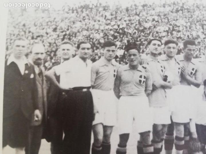 Coleccionismo de Revista Blanco y Negro: Fotografía del primer partido internacional en Mestalla 1925 - Foto 7 - 171150237