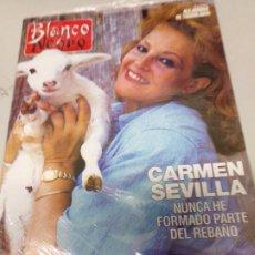Coleccionismo de Revista Blanco y Negro: REVISTA BLANCO Y NEGRO CARMEN SEVILLA 23 AGOSTO 1992. Lote 173019655