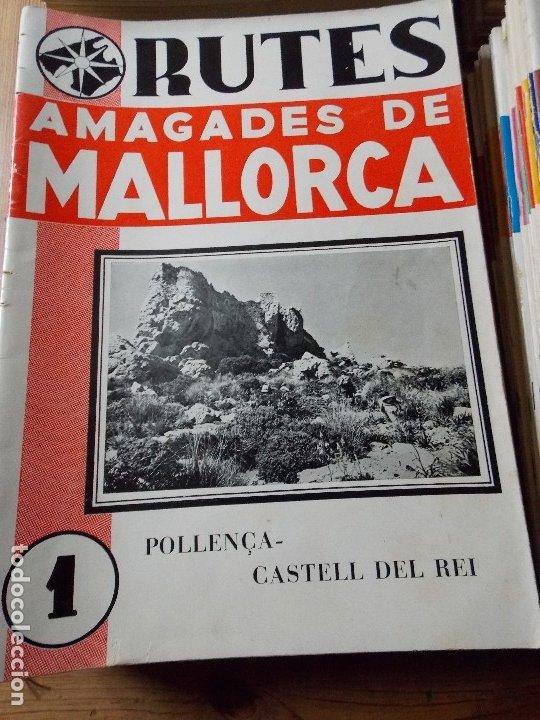 RUTAS ESCONDIDAS DE MALLORCA / RUTES AMAGADES DE MALLORCA (Coleccionismo - Revistas y Periódicos Modernos (a partir de 1.940) - Blanco y Negro)