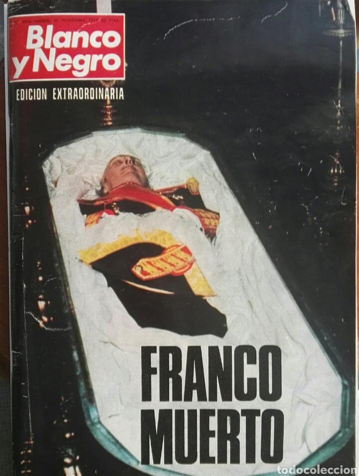 BLANCO Y NEGRO EDICIÓN EXTRAORDINARIA 3316 NOVIEMBRE 1975 (Coleccionismo - Revistas y Periódicos Modernos (a partir de 1.940) - Blanco y Negro)