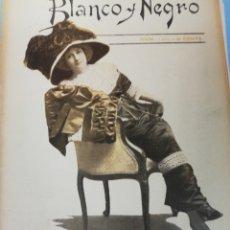 Coleccionismo de Revista Blanco y Negro: BLANCO Y NEGRO N. 1032 19 FEBRERO 1911. Lote 175891709