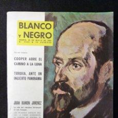 Colecionismo de Revistas Preto e Branco: REVISTA BLANCO Y NEGRO. Nº 2664, 1963. JUAN RAMÓN JIMENEZ, COOPER ABRE EL CAMINO A LA LUNA. Lote 144137550