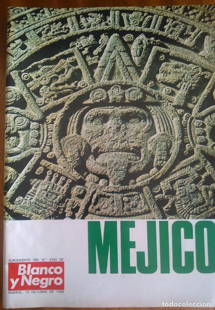 MÉJICO. SUPLEMENTO. 1.968. (Coleccionismo - Revistas y Periódicos Modernos (a partir de 1.940) - Blanco y Negro)