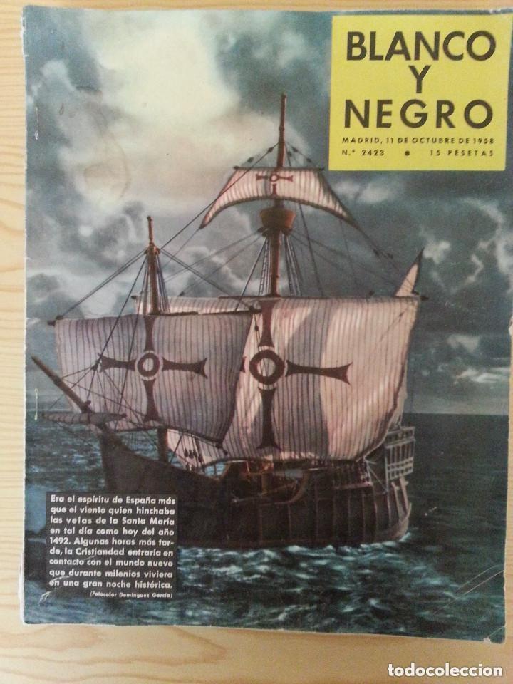 Coleccionismo de Revista Blanco y Negro: LOTE 5 REVISTAS BLANCO Y NEGRO (1958-1959-1964) - VER FOTOGRAFÍAS PARA PORTADAS - Foto 2 - 177576504