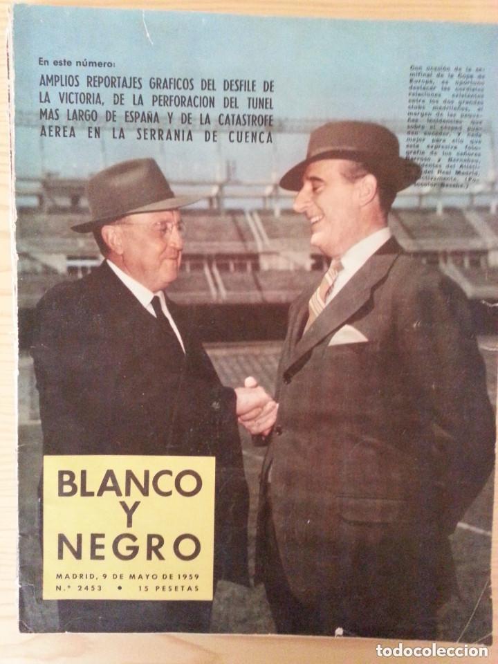 Coleccionismo de Revista Blanco y Negro: LOTE 5 REVISTAS BLANCO Y NEGRO (1958-1959-1964) - VER FOTOGRAFÍAS PARA PORTADAS - Foto 3 - 177576504