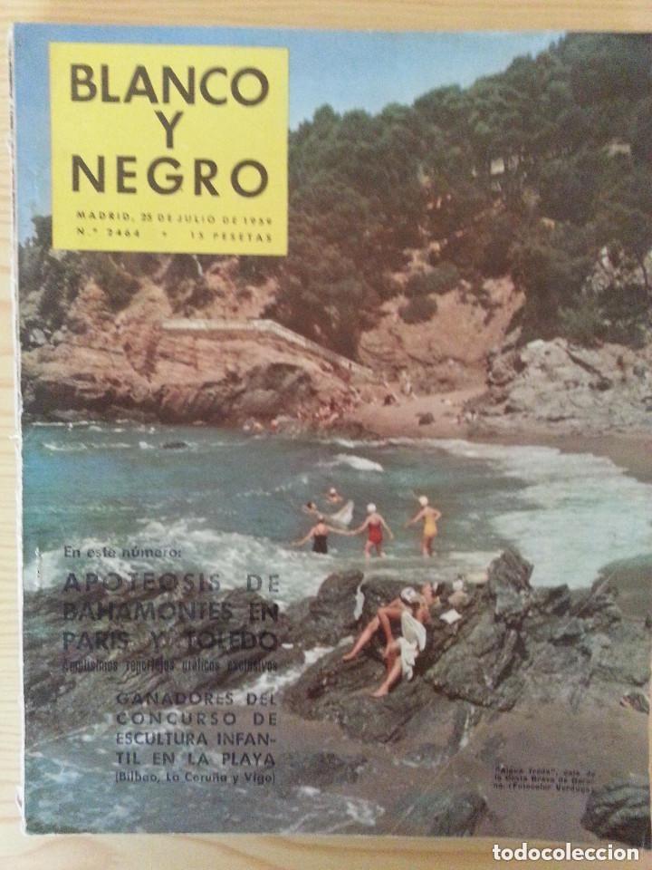 Coleccionismo de Revista Blanco y Negro: LOTE 5 REVISTAS BLANCO Y NEGRO (1958-1959-1964) - VER FOTOGRAFÍAS PARA PORTADAS - Foto 4 - 177576504