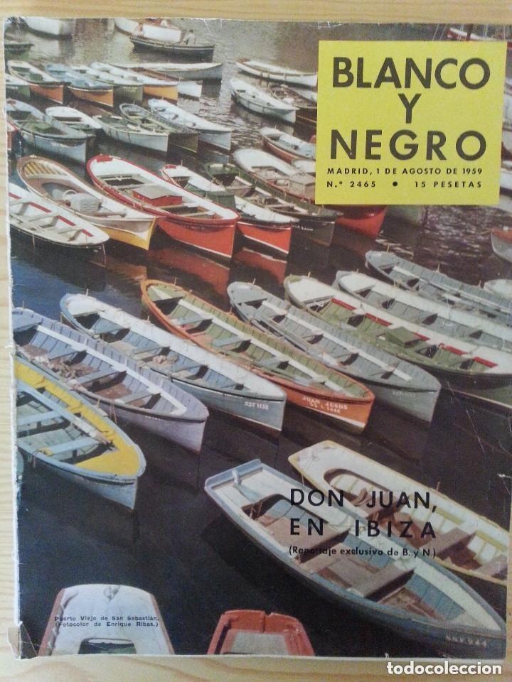 Coleccionismo de Revista Blanco y Negro: LOTE 5 REVISTAS BLANCO Y NEGRO (1958-1959-1964) - VER FOTOGRAFÍAS PARA PORTADAS - Foto 5 - 177576504