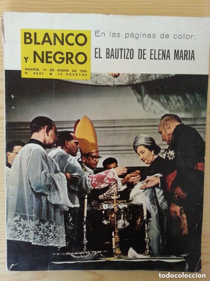 Coleccionismo de Revista Blanco y Negro: LOTE 5 REVISTAS BLANCO Y NEGRO (1958-1959-1964) - VER FOTOGRAFÍAS PARA PORTADAS - Foto 6 - 177576504